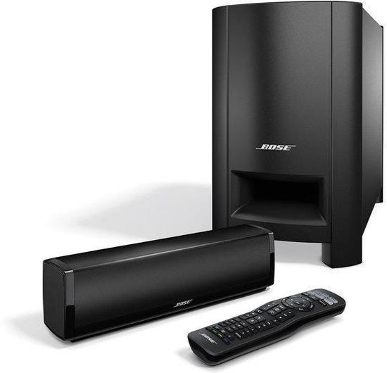 bose cinemate 15 home cinema soundbar zwart. Black Bedroom Furniture Sets. Home Design Ideas