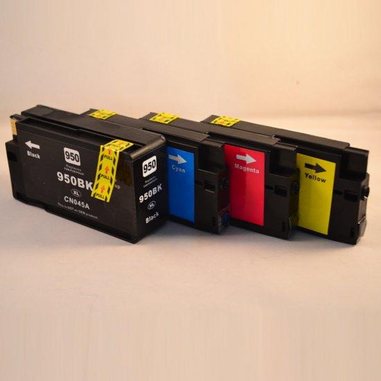 Merkloos - Inktcartridge / Alternatief voor de HP 951XL en 951XL / Multipack