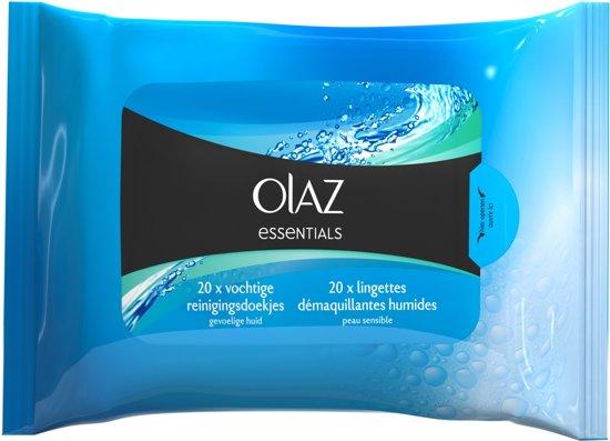 Olaz Essentials - 20 stuks - Reinigingsdoekjes