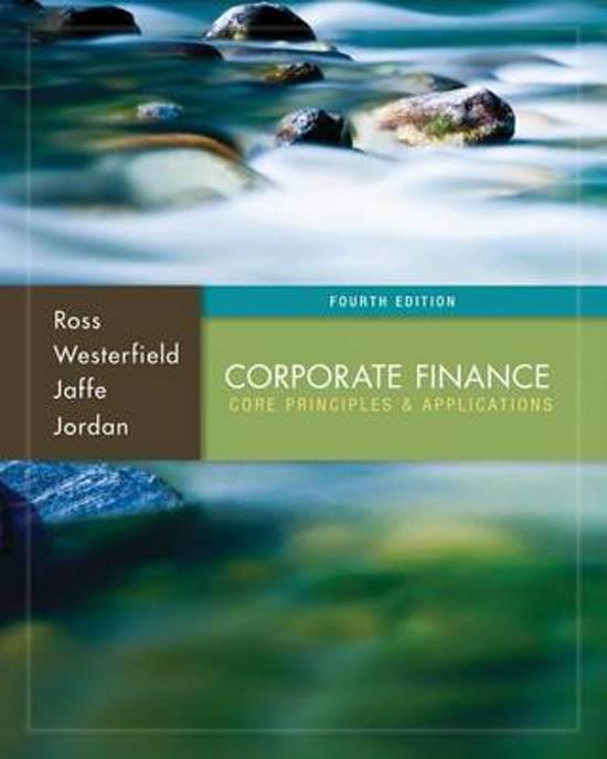 corporate finances essay