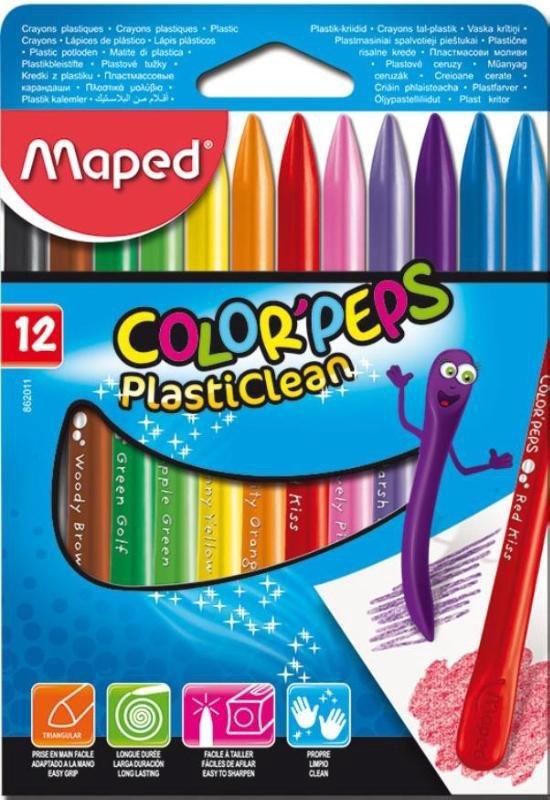 Colorpeps Plasticlean - in kartonnen doos x 12 in Varsseveld