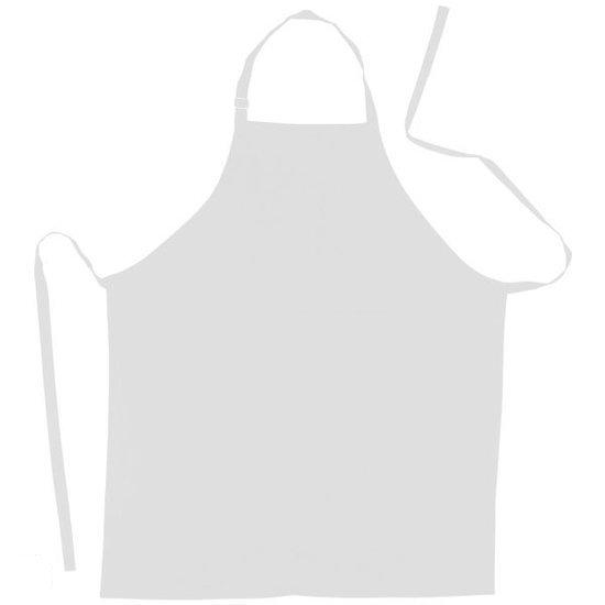 bol benza schort keukenschort neutraal blanco wit