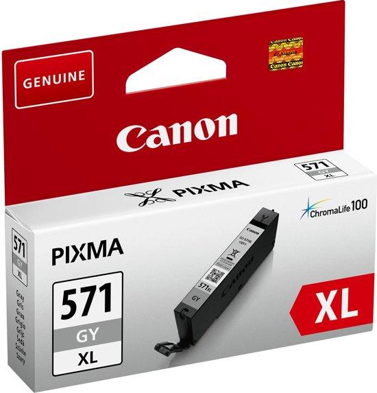 Canon CLI-571XL - Inktcartridge / Grijs / Hoge Capaciteit