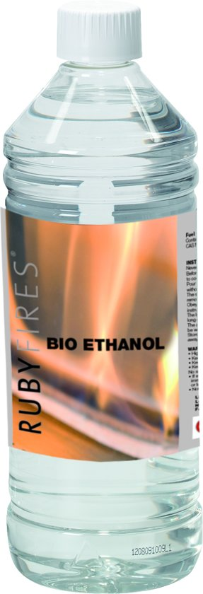 ruby fires bio ethanol lef 1 liter. Black Bedroom Furniture Sets. Home Design Ideas