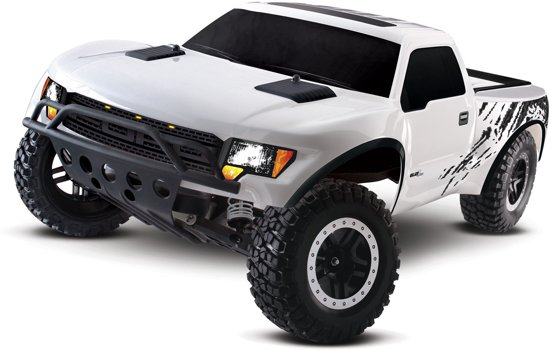 Traxxas Ford F-150 SVT Raptor 2WD Brushed On Board Audio Wit in Katwijk