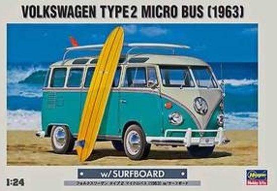 Hasegawa VW T2 Micro Bus (1963) in Vlissegem