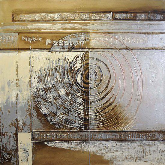 Modern schilderij 100cmx100cm wonen - Associatie van kleur e geen schilderij ...