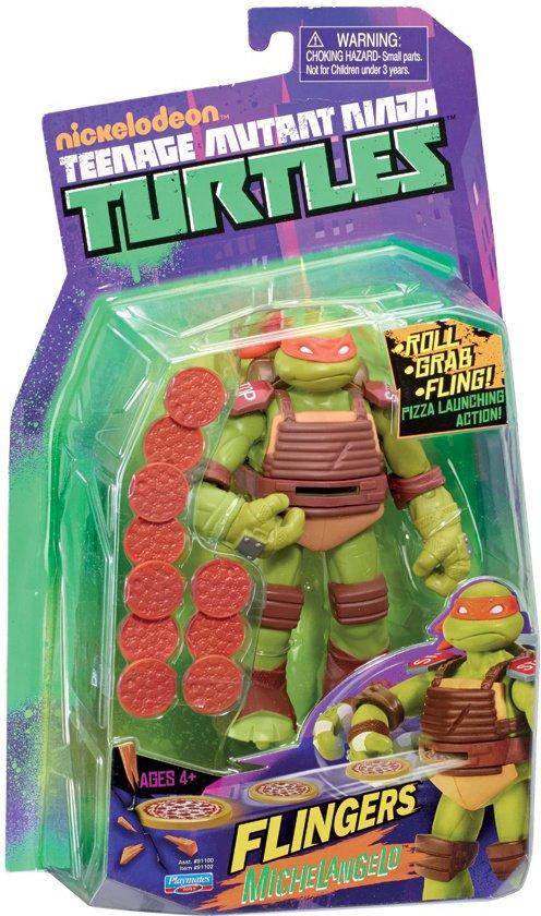 Teenage Mutant Hero Turtles Fingers Mickey 14cm - Actiefiguur in Terstraten