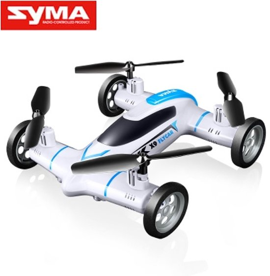 SYMA X9 FLYING CAR&Drone  2.4GHZ Wit in Celles (Lg.)