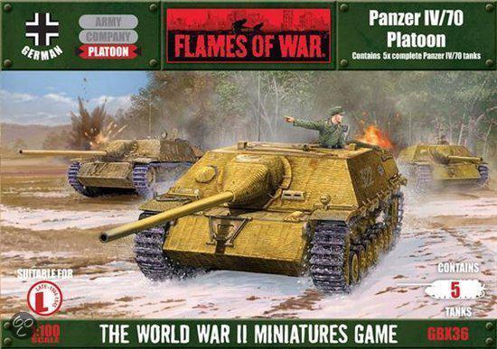 Panzer IV/70 Platoon in Cadzand-Bad