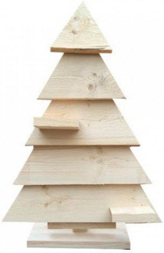 Houten kerstboom steigerhout kant en klaar for Houten tuinkast intratuin