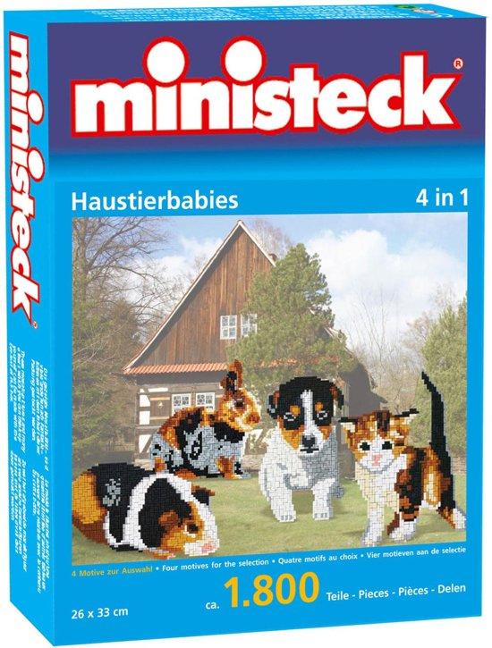 Ministeck Creativ Huisdier Figuren in Boterwijk