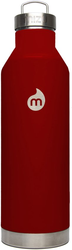 MIZU V8 Insulated Bottle Glossy Red LE in Lingsfort