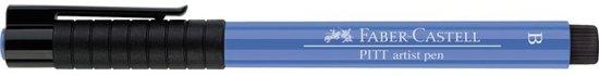 tekenstift Faber Castell Pitt Artist Pen Brush 120 ultramarijn in Halder