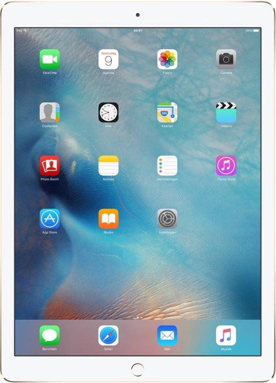 Apple iPad Pro - 12.9 inch - WiFi - Wit/Goud - 32GB - Tablet