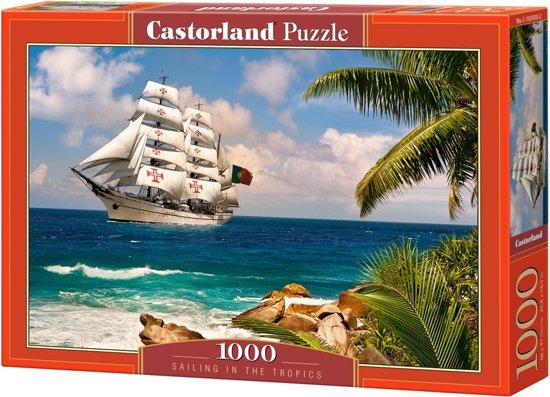 Sailing in the Tropics 1000 stukjes in Horick