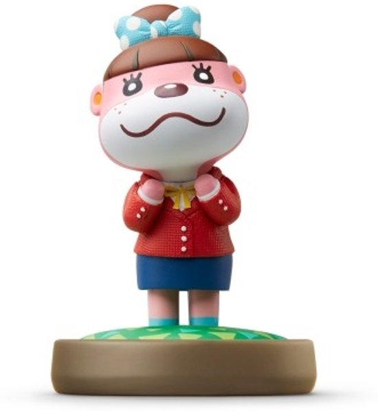 Nintendo amiibo Animal Crossing figuur Lottie - Wii U + NEW 3DS in Blijdenstein