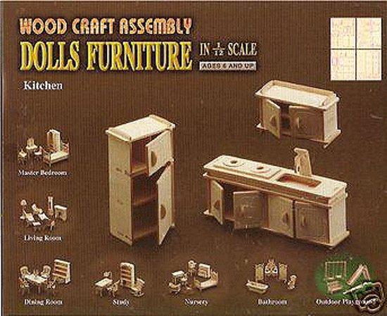 Poppenhuis meubels keuken for Meubels poppenhuis