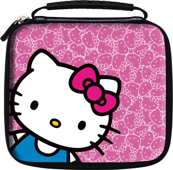 Offici le hello kitty bescherm en opberghoes for Housse 2ds bigben