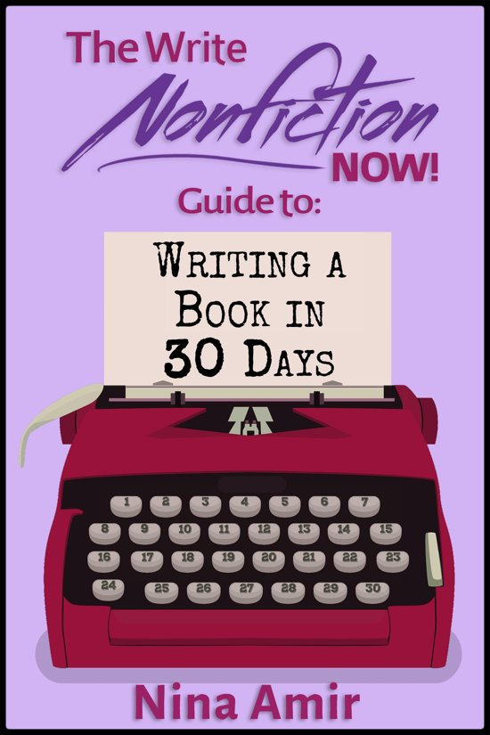 Can You Write a Nonfiction Book in 30 Days?