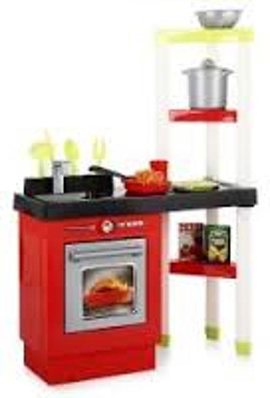 Keuken Rood Grijs : bol.com Ecoiffier grote keuken 17- delig Speelgoed