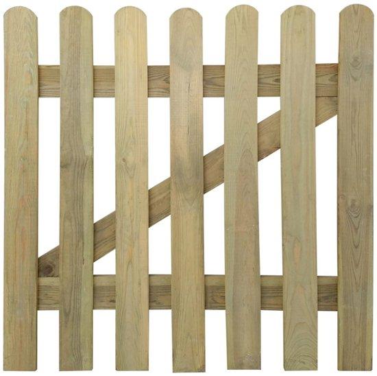 Tuinpoort 100 x 100 cm hout for Schuhschrank 60 x 100