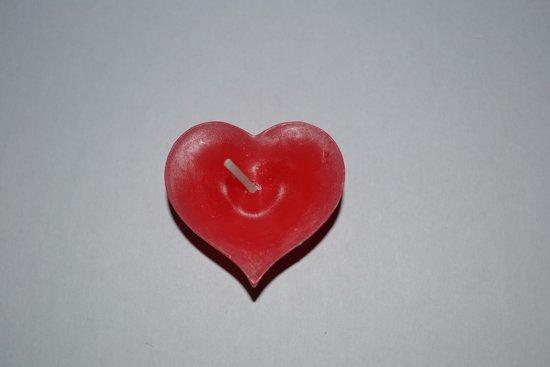 Rode Keukenapparaten : bol.com Rode Drijfkaarsen model Hart set van 40 Koken en tafelen