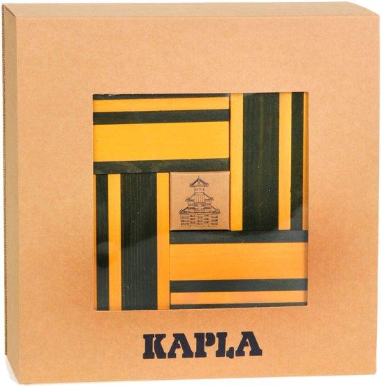 KAPLA Kleur + Voorbeeldboek - 40 Plankjes - Geel & Groen in Voorthuizen