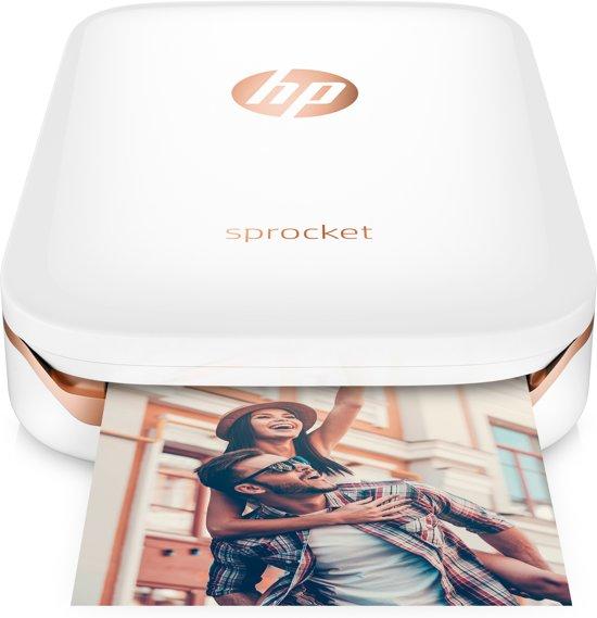 HP Sprocket - Mobiele Fotoprinter - Wit