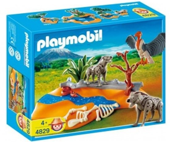 Playmobil Hyena's met Gier - 4829 in Brammelo