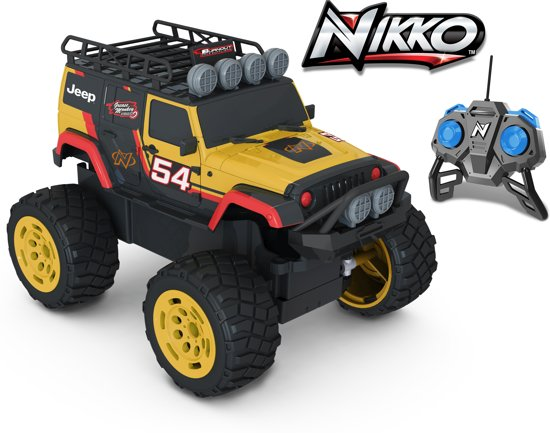 Nikko Rc Off-Road Jeep W. 1:18 in Klein-Welsden