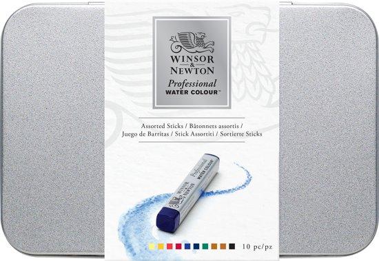 Winsor & Newton Professional Water Colour Sticks set 10 kleuren in Biervliet