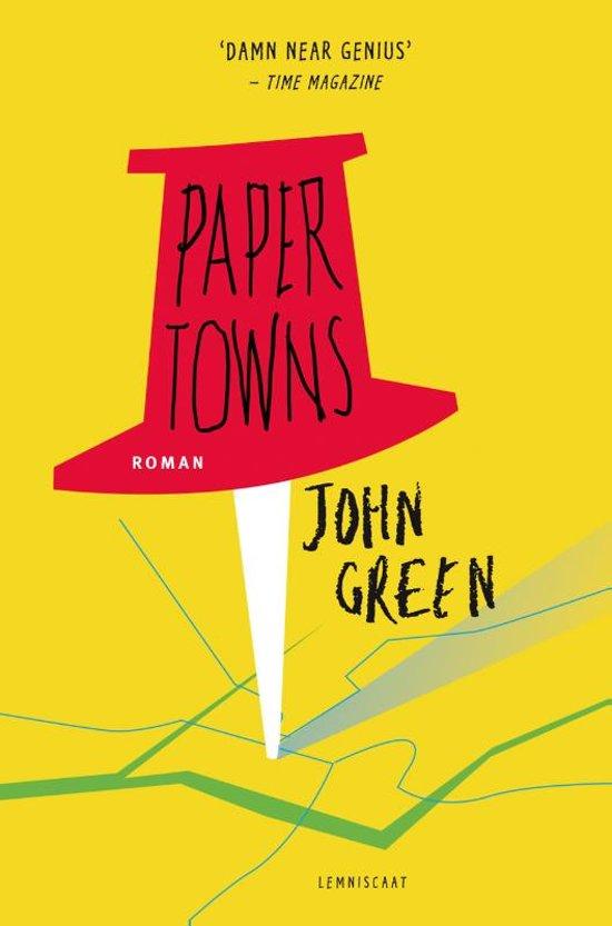 Citaten Uit Paper Towns : Alyza s fictie paper towns leerjaar deel