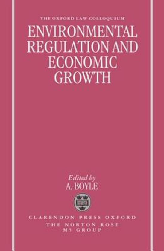 regulation and economic growth By tara m sinclair & kathryn vesey claims about government regulation and its detrimental effects on job creation and economic growth are currently receiving substantial attention in the public sphere.
