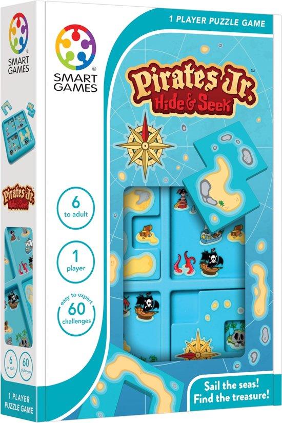 Smart Games Pirates Hide & Seek Jr (60 opdrachten) in Surhuizum / Surhuzum