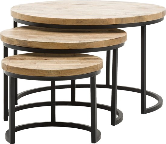Goossens wonen slapen salontafel jelle for Bijzettafeltje design