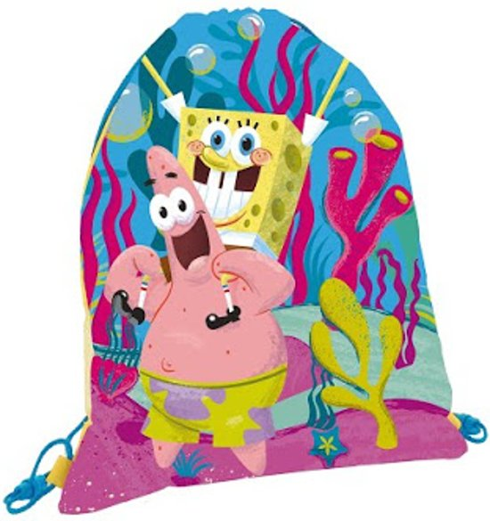 Spongebob Beachy Keen Rugzak in Kladde