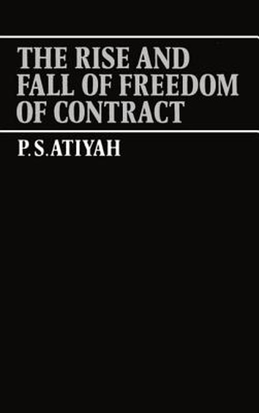 patrick atiyah essays on contract Robert s summers, essays in in the latter role he is the coauthor with patrick atiyah of form that the parties to a contract be of legal age and.