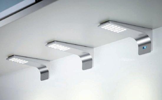 Lumica pure led opbouwspot keukenverlichting for Led verlichting spots dimbaar