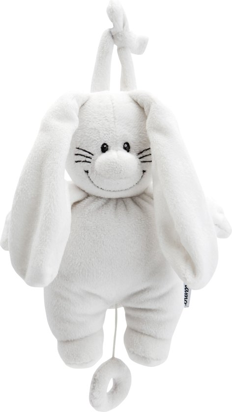 Bunny Basic Muziekdoosje Wit