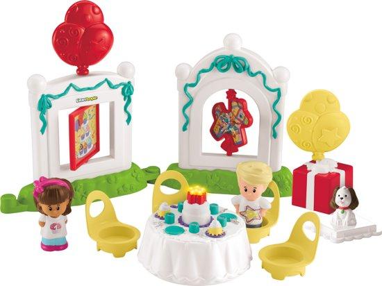 Fisher-Price Little People  Verjaardagsfeest - Speelfigurenset in Sintjohannesga / Sint Jansgea