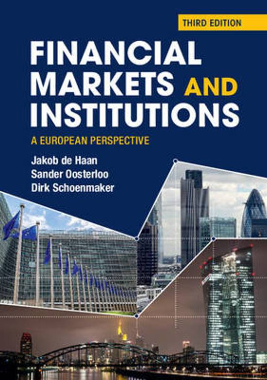 overview of financial markets institutions and We find a deepening of both financial markets and institutions structure database and presents recent trends in structure and development of financial institutions and markets across countries provides an overview over the different variables includes as well as the respective periods.