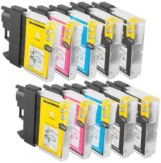 Compatible Brother LC-1100/LC-980 inktcartridges
