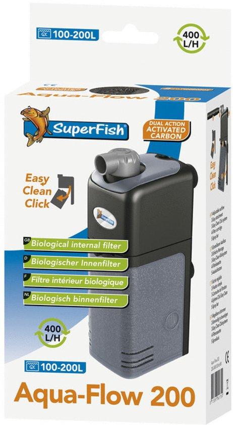 superfish filter 200 voor aquarium 100 200 liter. Black Bedroom Furniture Sets. Home Design Ideas