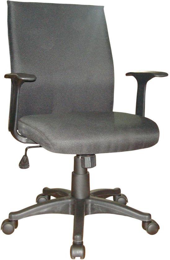 Woonexpress bureaustoel EDGAR - Zwart in Jodoigne-Souveraine