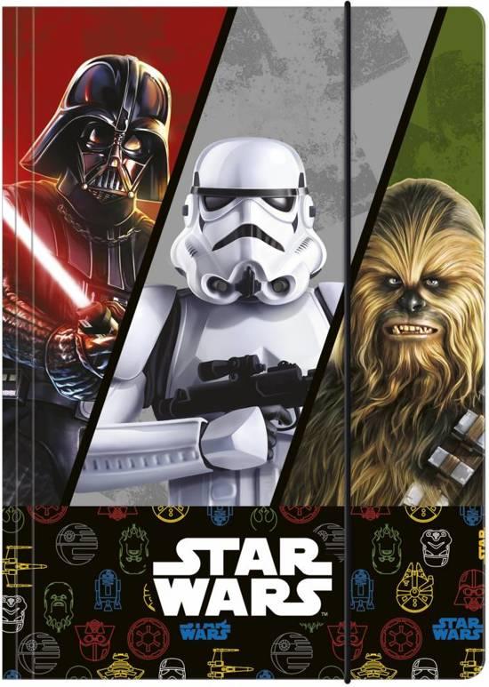 Star wars Elastomap - A4 mix design in Harkezijl