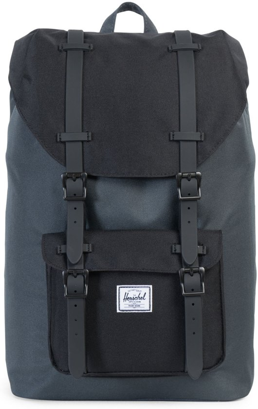 Herschel Supply Co. Little America Mid-Volume - Rugzak - Dark Shadow / Black / Black in Beauraing