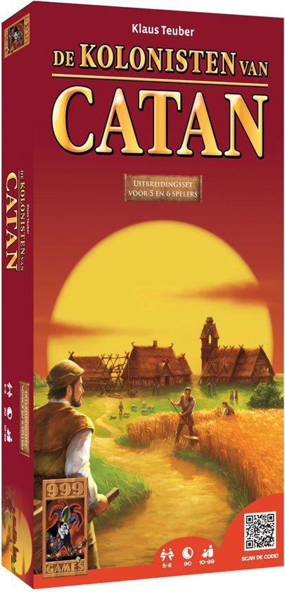 De Kolonisten van Catan Uitbreiding voor 5 en 6 Spelers - Bordspel