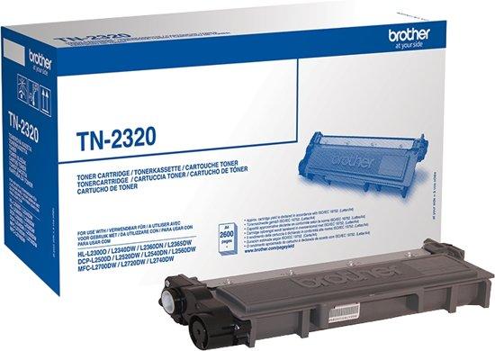 BROTHER TN-2320 toner zwart high capacity 2.600 paginas 1-pack