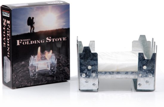 CheapOutdoor™ Fosco Industries Pocket Folding Stove in Reet